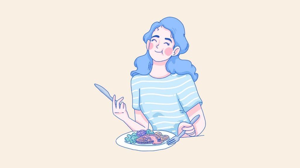 Enjoying Good Meal