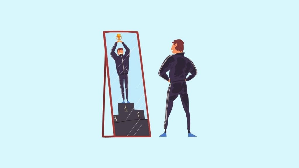 Talking to Mirror